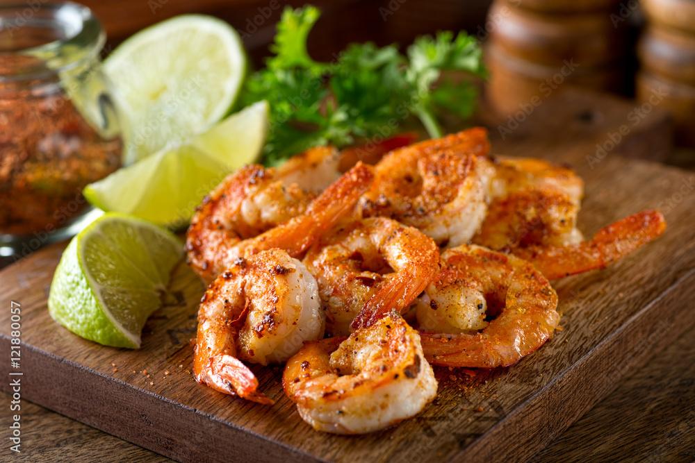Fototapety, obrazy: Cajun Shrimp