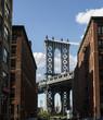 New York, Manhattan Bridge and DUMBO¬