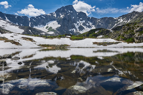 Fototapety, obrazy: Beautiful summer landscape, Altai mountains Russia.