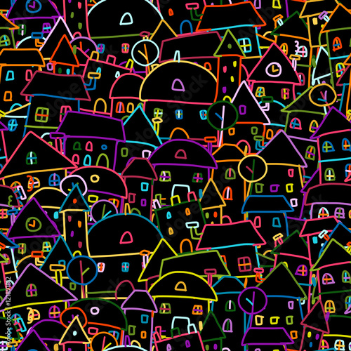 kolorowe-miasto-wzor-dla-swojego-projektu