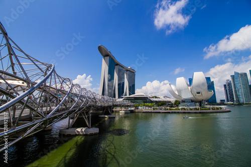 Photo  Singapore city view