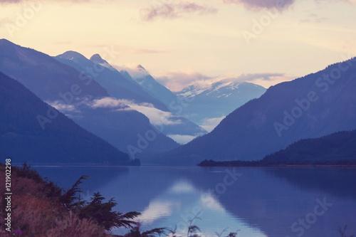 Foto auf Gartenposter Gebirge Mountains in Canada