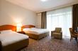 Elegant hotel bedroom interior