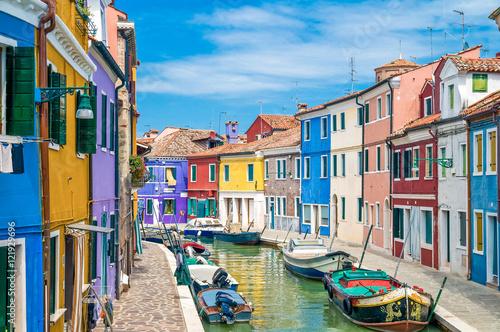 Poster Venise Burano Venedig