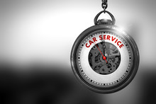Car Service - Red Text On The ...