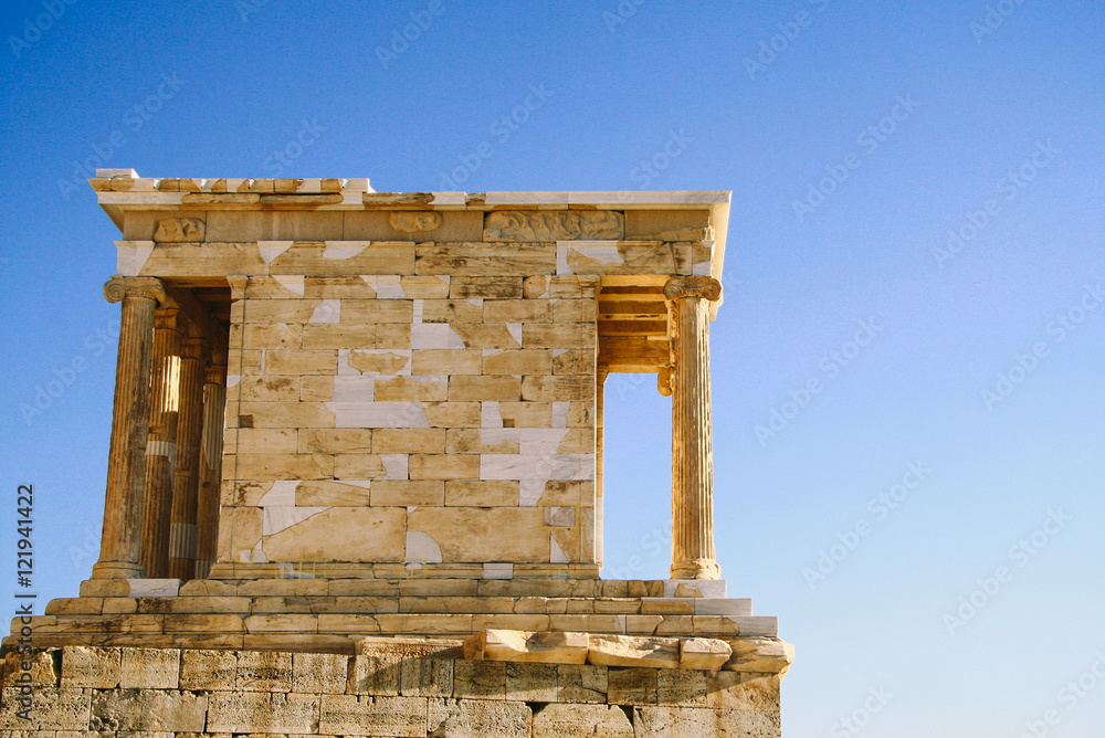 Temple Of Athena Nike The Earliest Fully Ionic Temple On The