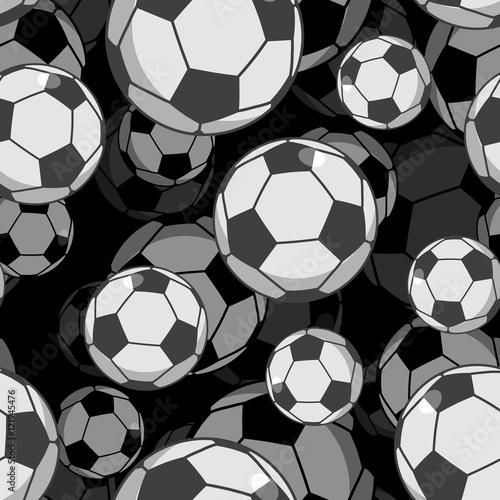 Piłka nożna piłka 3d wzór. Ozdoba akcesoriów sportowych