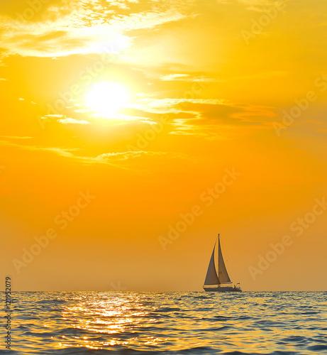 Fotografie, Obraz  Yacht