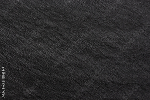 Poster Stenen Dark black slate background or texture