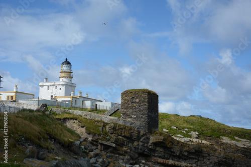 Fototapeta Lighthouse and winehouse