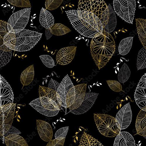 Ręcznie rysowane złota jesień