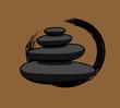 Black Spa Zen Stones