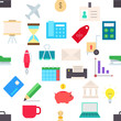 Business vector pattern stickers