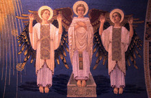Angels Mosaic On The Wall Of C...