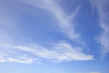 Beautiful Sky And Streaky Clou...