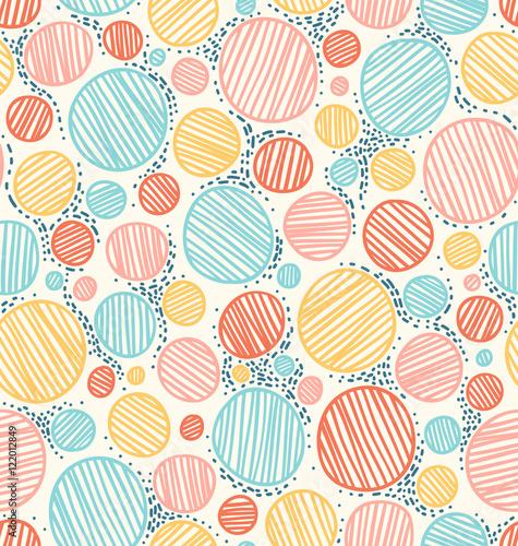 Materiał do szycia Kolor kropkowanej abstrakcja bezszwowe