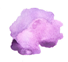 Watercolor Purple Paint. Colorful Paint Illustration For Decoration.