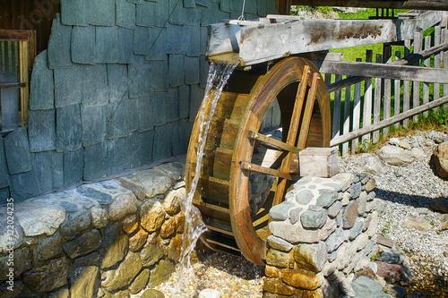 Poster Molens Wassermühle