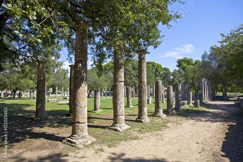 Foto op Aluminium Rudnes Olympia archeological site