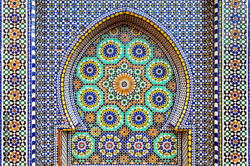 Poster Maroc Mausoleum Moulay Ismail