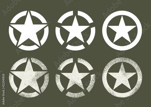 Us Military Stars Buy This Stock Vector And Explore Similar