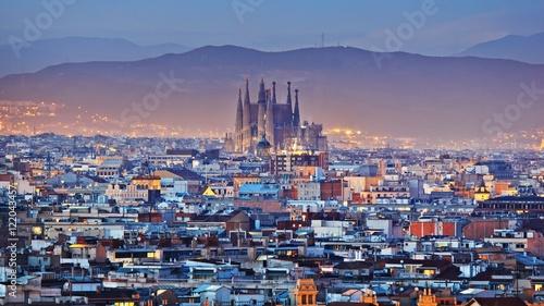 Staande foto Barcelona PANORAMA BARCELONA