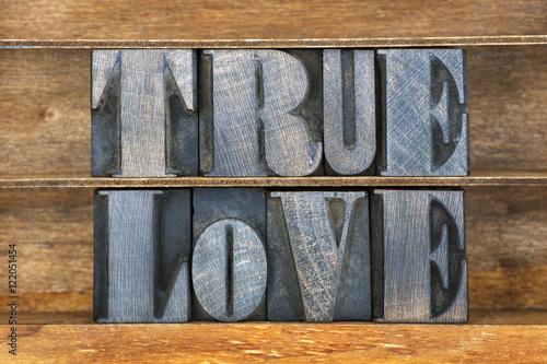 Cuadros en Lienzo true love tray
