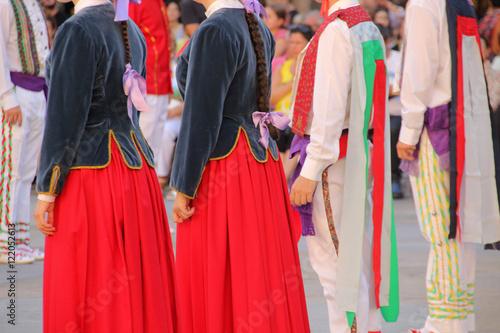 Foto op Canvas India Danza vasca