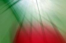 Abstract Background In Green, Red And White Colors