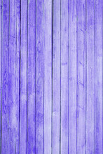 Purple Texture Of Old Paint On The Wooden Boards