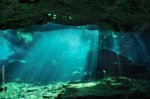 Mysterious cave