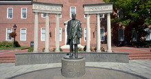 Thurgood Marshall Statue.