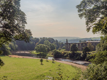 The Old Abbey And River Wharfe...