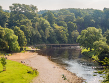 River Wharfe On A Summers Afte...