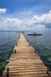 Island Pier & Fishing Boat