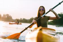 Nice Day On Kayak.