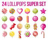 lollipops icons set - 122137458
