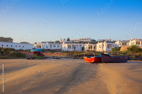 Foto op Plexiglas Zuid Afrika Scenic morning on the beach at Paternoster South Africa