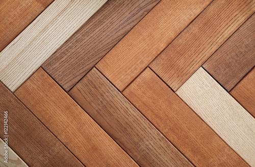 Obraz wood brown plank texture background - fototapety do salonu