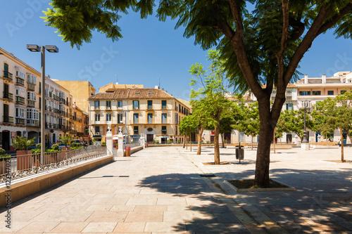 Plaza De La Merced Malaga Andalusia Province Spain Buy This