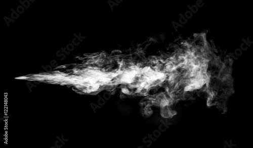 Türaufkleber Rauch Smoke or steam cloud.