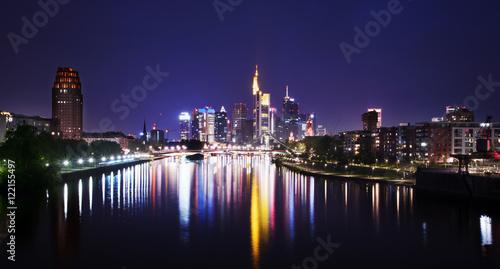 Poster Frankfurt Skyline.