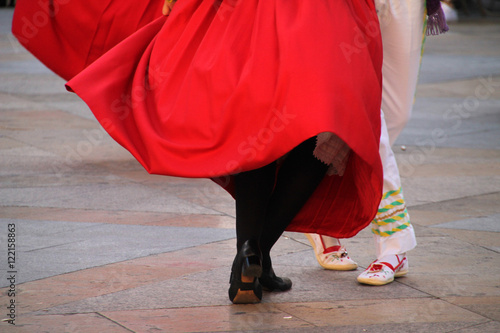 Fototapeten Tanzschule Folklore vasco