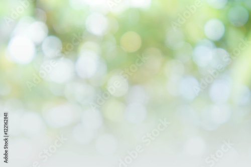 Foto  abstract bokeh background style, nature colorful blur background