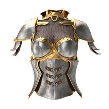 Woman Armor 3d Illustration Isolated On White Background