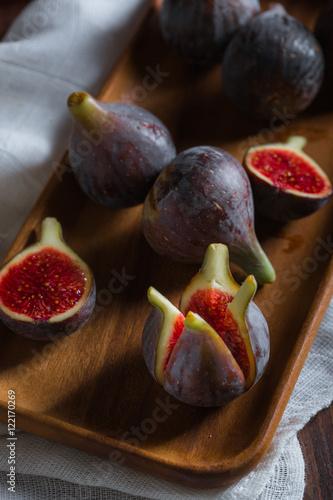 Foto op Aluminium Vruchten Fresh figs