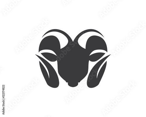 Rams Head Silhouette Buy This Stock Vector And Explore Similar