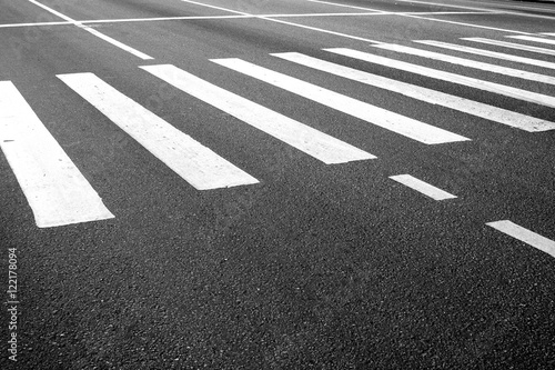 Canvas Pedestrian crosswalk marking