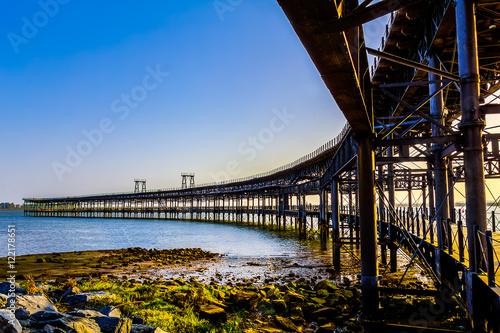 Muelle del Tinto en la Ría Huelva