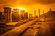 Leinwanddruck Bild - Ruins of the ancient city Persepolis